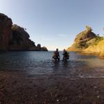 Plongée du bord à La Ciotat dans la grotte des 3 pépés