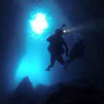 Plongée du bord à Marseille Grotte de Callelongue