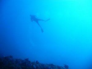 iBubble drone plongées sous-marines apnée Guillaume Néry