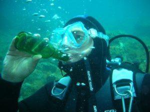 Alcool et Plongée