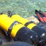 Vente aux enchères de matériel de plongée