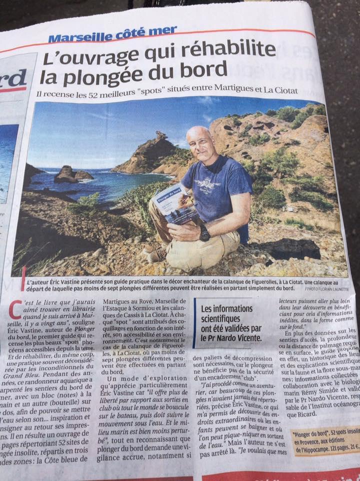 plonger du bord La Provence