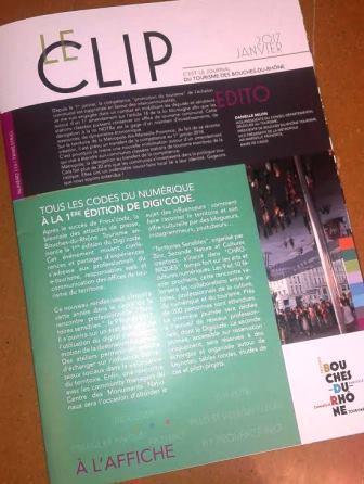 Clip magazine du tourisme dans les Bouches-du-Rhone