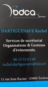 BDCA Service Evenementiel et secretariat
