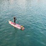 Plonger du bord et plongée sous-marine en SUP Stand Up Paddle Lozen