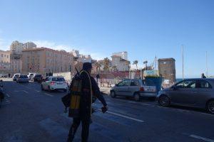 plonger du bord au centre ville de Marseille