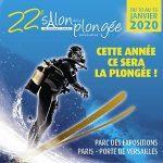22ème salon international de la plongée du 10 au 13 Janvier 2020 Porte de Versailles au Parc des Expositions Eric Vastine