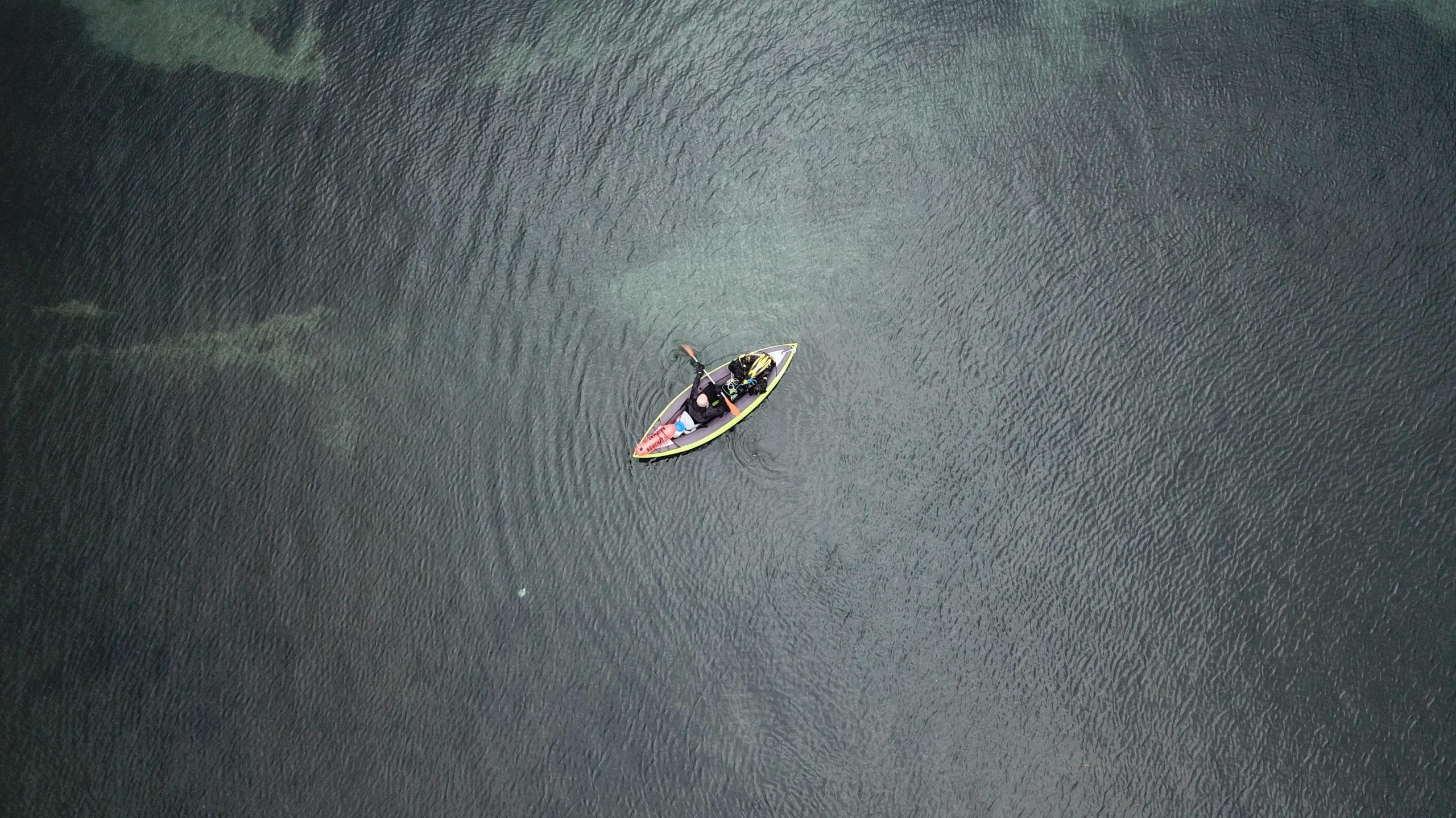 La plongée Kayak