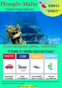 Gagnez un voyage pour plonger du bord à Malte
