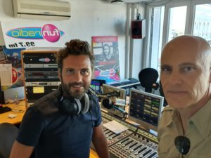Plonger du bord sur Fun Radio